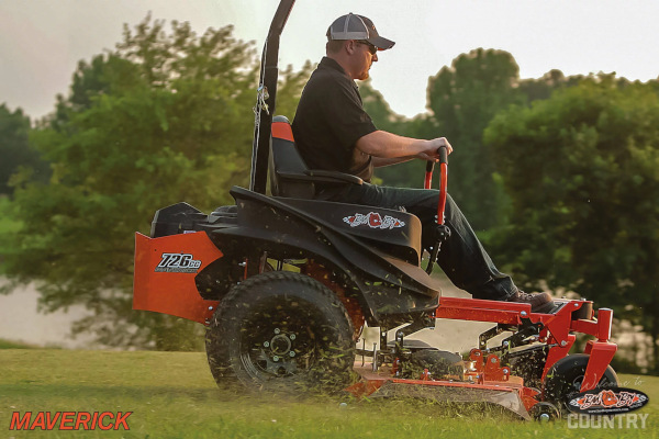 Bad Boy Mowers | Maverick | Model 726cc Air-Cooled Kawasaki® FS for sale at H&R Agri-Power