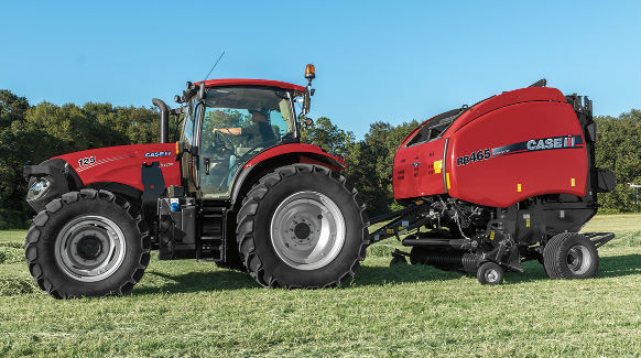 Case IH Products RB465 Premium Round Baler » H&R Agri-Power