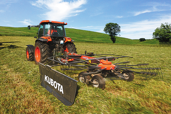 Kubota | Farm Implements | Rakes for sale at H&R Agri-Power