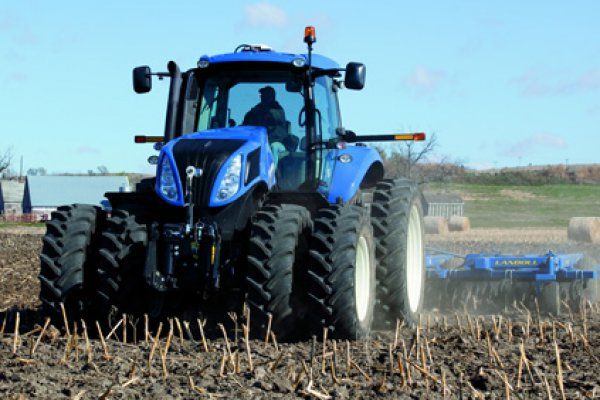 New Holland Ag Products | Genesis T8 Series - Tier 4B | Model Genesis T8.380 for sale at H&R Agri-Power