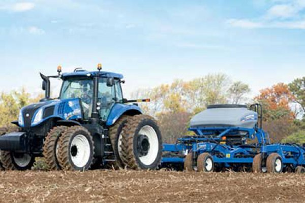 New Holland Ag Products | Genesis T8 Series - Tier 4B | Model Genesis T8.320 for sale at H&R Agri-Power