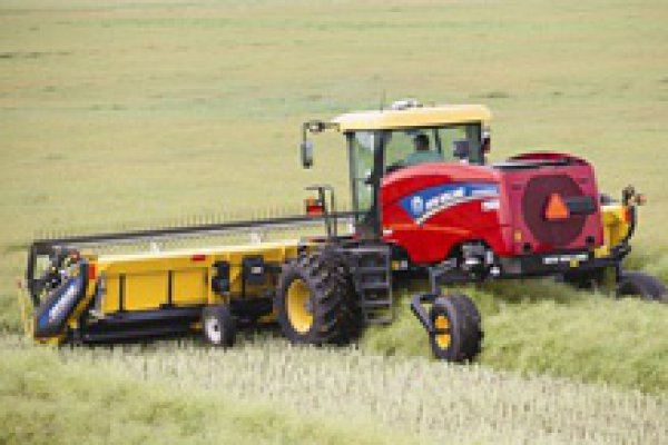 New Holland Ag Products | Haytools & Spreaders | Speedrower Self-Propelled Windrowers Tier 4B for sale at H&R Agri-Power