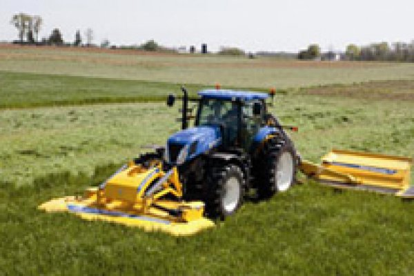 New Holland Ag Products | Haytools & Spreaders | MegaCutter Triple Disc Mower-Conditioners for sale at H&R Agri-Power