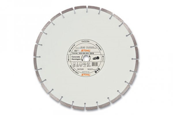 Stihl | Diamond Wheels | Model B10 Diamond Wheel - Economy Grade for sale at H&R Agri-Power