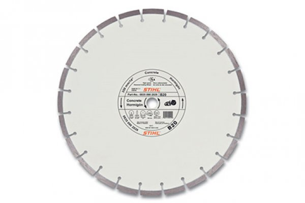 Stihl | Diamond Wheels | Model B20 Diamond Wheel - Quality Grade for sale at H&R Agri-Power