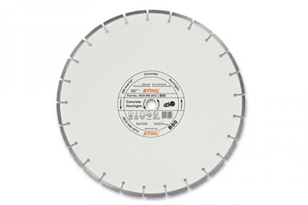 Stihl | Diamond Wheels | Model B80 Diamond Wheel - Premium Grade for sale at H&R Agri-Power
