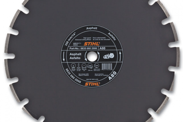Stihl | Diamond Wheels | Model A80 Diamond Wheel - Premium Grade for sale at H&R Agri-Power