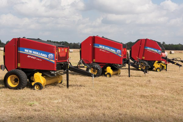 New Holland Ag Products | Haytools & Spreaders | RF Fixed Chamber Round Baler for sale at H&R Agri-Power