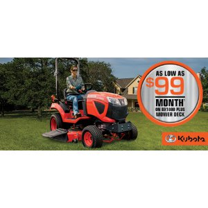 HR Kubota Financing Offer BX1880