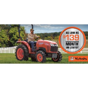 HR Kubota Financing Offer L250