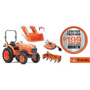 HR Kubota Financing Offer L2501DT