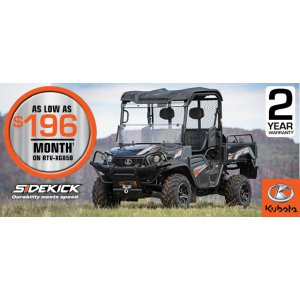 HR Kubota Financing Offer Sidekick2