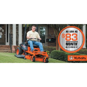 HR Kubota Financing Offer Z122RKW