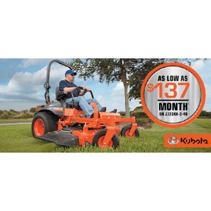 HR Kubota Financing Offer Z723